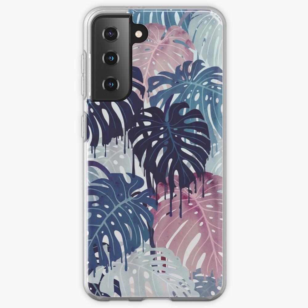 Monstera Melt Case & Skin for Samsung Galaxy