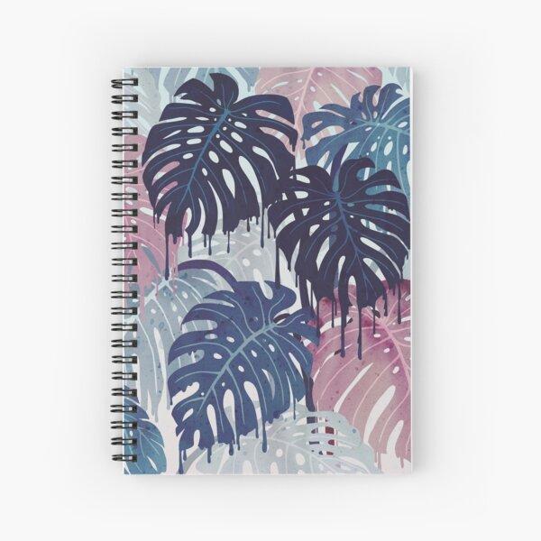 Monstera Melt Spiral Notebook