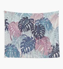 Monstera Melt Wall Tapestry