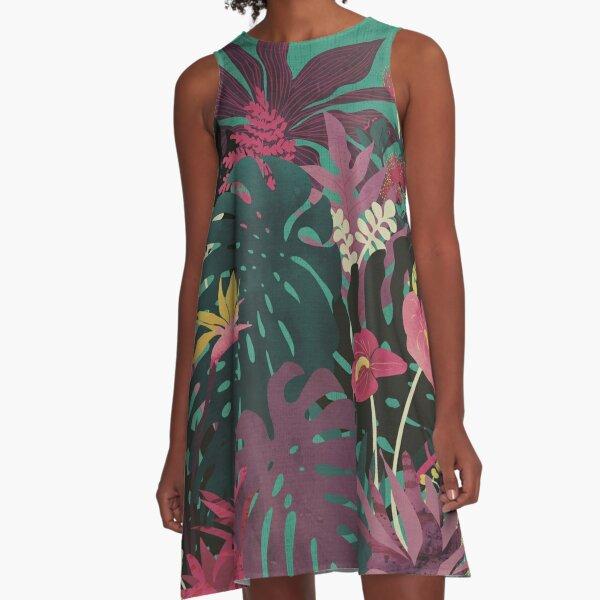 Tropical Tendencies A-Line Dress