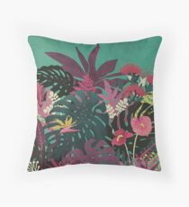 Tropical Tendencies Throw Pillow