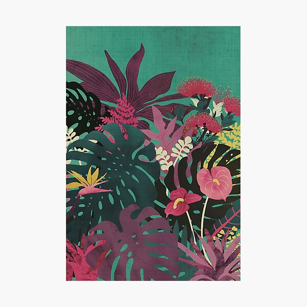 Tropical Tendencies Photographic Print