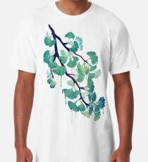 O Ginkgo (en vert) T-shirt long