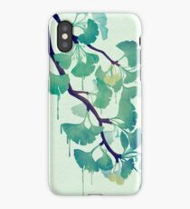 O Ginkgo (in Green) iPhone Case
