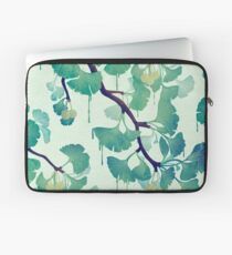 O Ginkgo (in Green) Laptop Sleeve