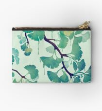 O Ginkgo (in Green) Studio Pouch