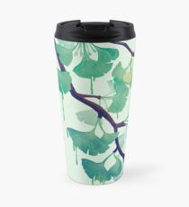 O Ginkgo (in Green) Travel Mug