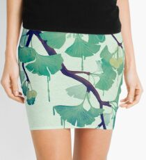 O Ginkgo (in Green) Mini Skirt