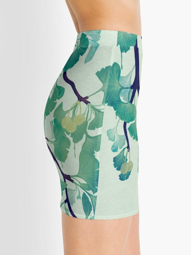 Alternate view of O Ginkgo (in Green) Mini Skirt