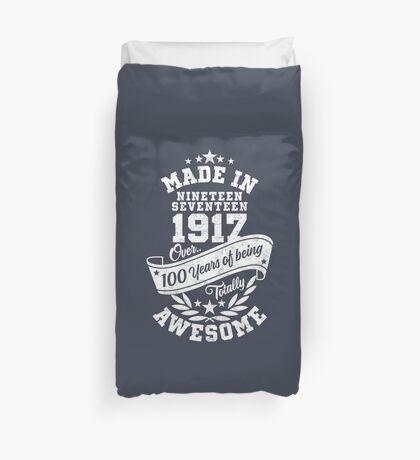 Made in 1917 - über 100 Jahre absolut fantastisch Bettbezug