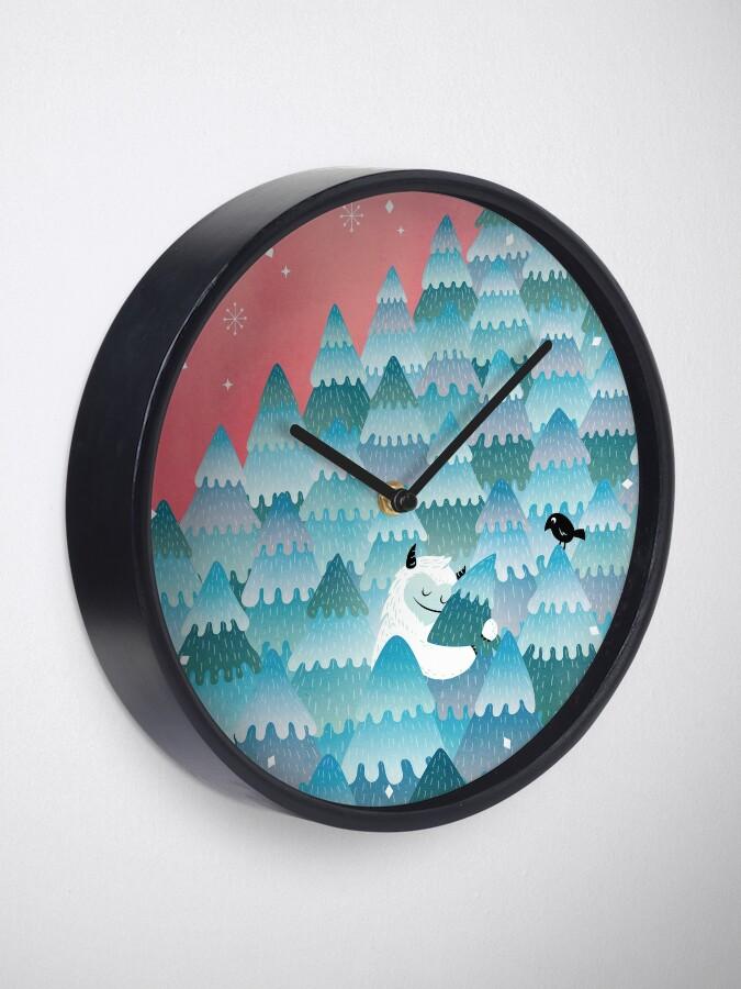 Alternate view of Tree Hugger Clock
