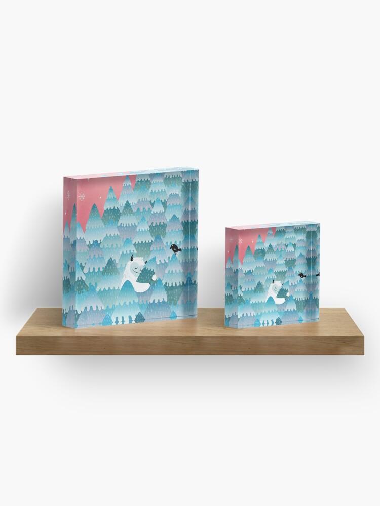 Alternate view of Tree Hugger Acrylic Block