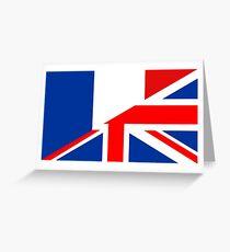 uk france flag Greeting Card