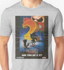 SONIC 2 POSTER T-Shirt