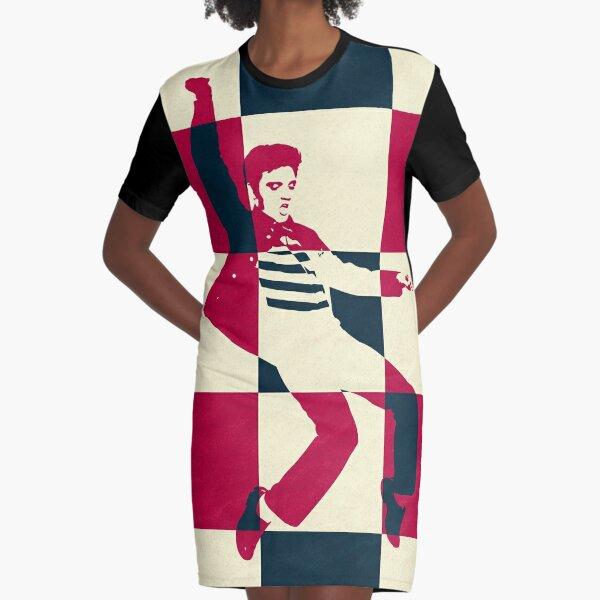 Jailhouse Rock Graphic T-Shirt Dress