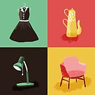 Retro design and mid-century stuff by Josephine Skapare