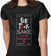 Fuck Sake (Black) Women's Fitted T-Shirt