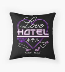 Love Hotel Throw Pillow