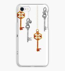 Watercolor Boho Style Key Background iPhone Case/Skin
