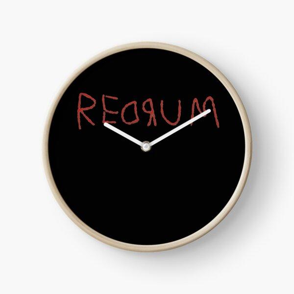 REDRUM Clock