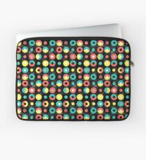 3-colored donuts red Laptoptasche