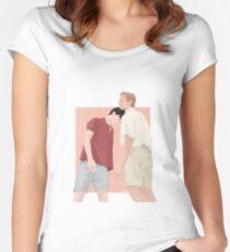 Ruf mich mit deinem Namen an   CMBYN Tailliertes Rundhals-Shirt