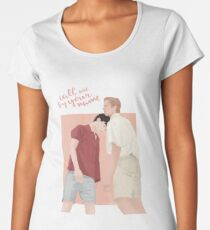 Call me by your name | CMBYN Women's Premium T-Shirt
