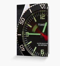 Time Is On My Side...... Greeting Card