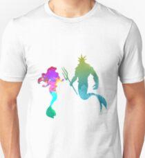 Mermaids Inspired Silhouette T-Shirt