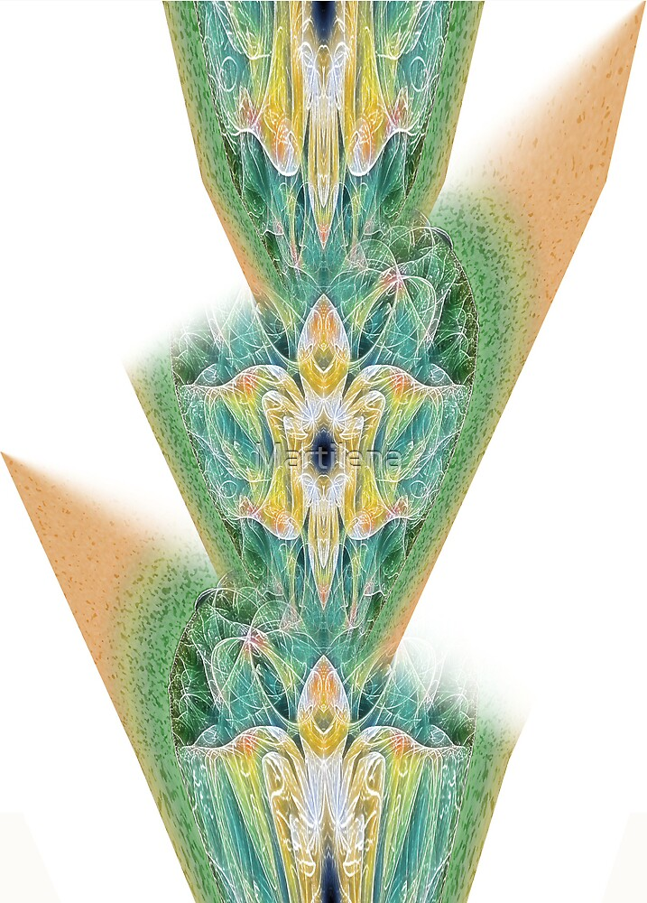 Art Nouveau - Pattern IV by Martilena