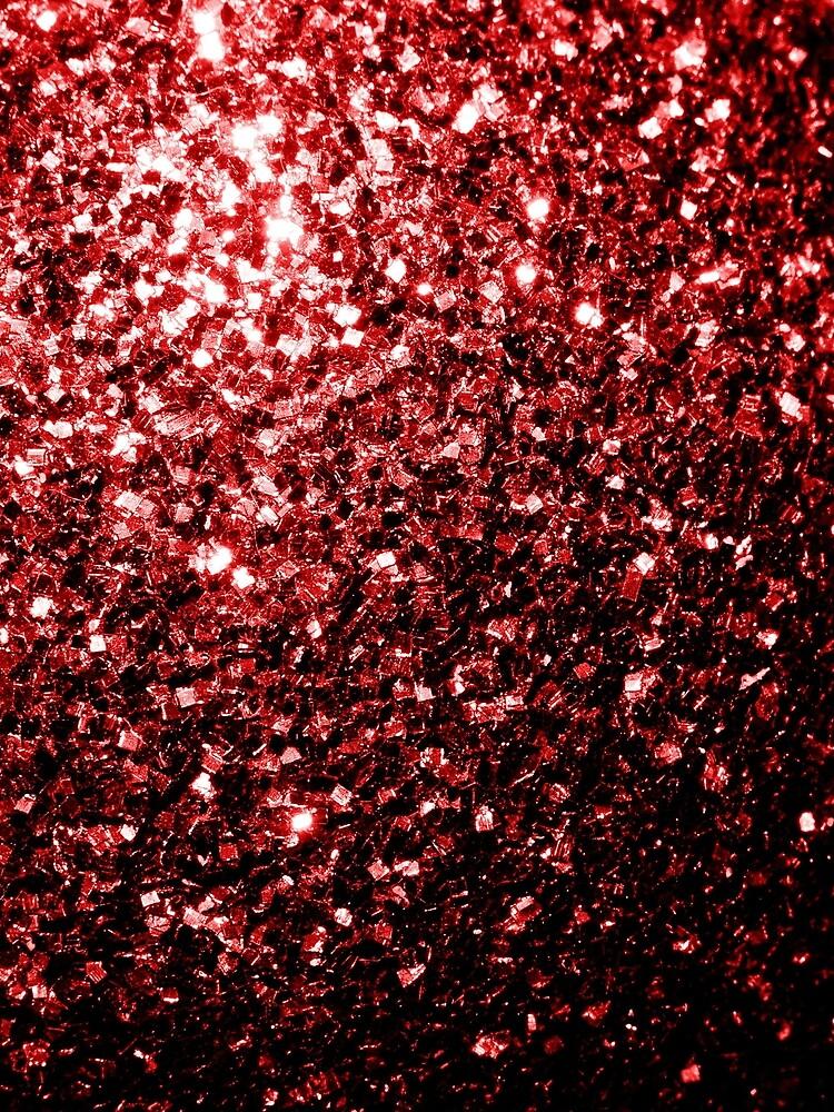 Glamour hermoso brillo rojo brilla de PLdesign