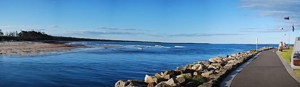 Jervis Bay Panorama by Peta Jade