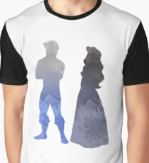 Characters Inspired Silhouette Graphic T-Shirt