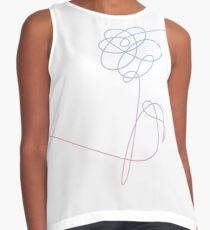 BTS LOVE YOURSELF FLOWER (without text) Contrast Tank