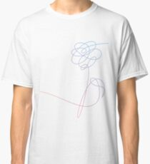 BTS LOVE YOURSELF FLOWER (without text) Classic T-Shirt