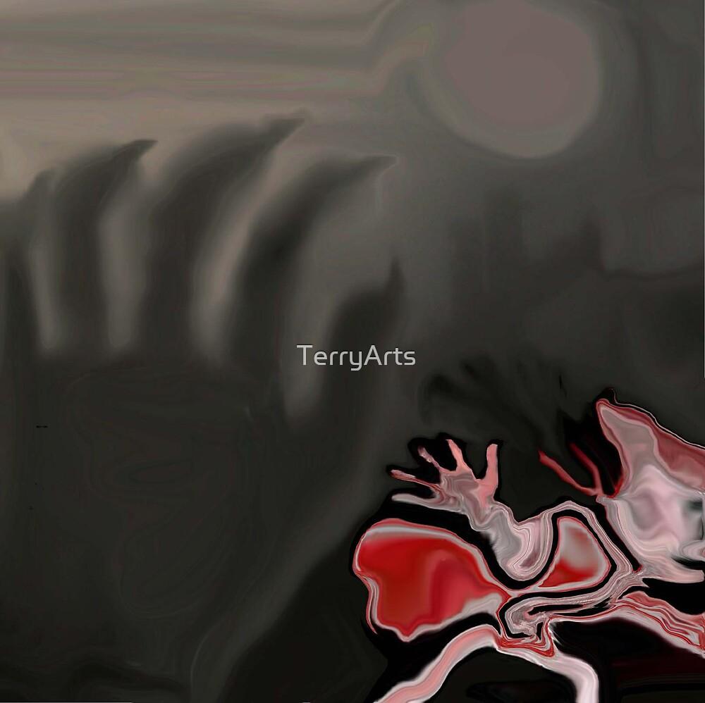 Fleeing from Death by Teresa Schultz