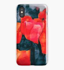 Tulip Field at Night iPhone Case/Skin