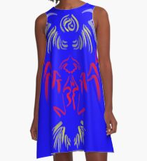 Wrenches Liturgy A-Line Dress