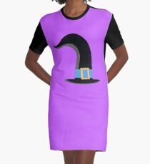 witches hat Graphic T-Shirt Dress