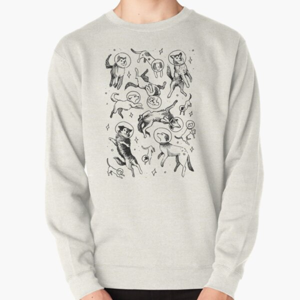 Space dogs Pullover Sweatshirt