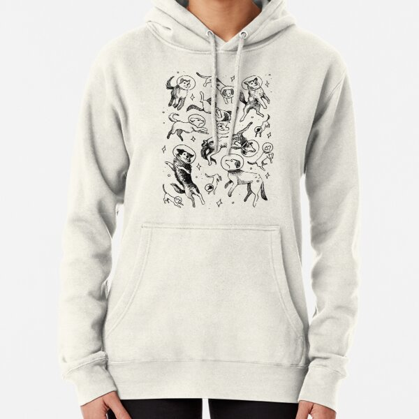 Space dogs Pullover Hoodie