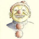 Clown by Sebastiaan Koenen