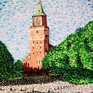 Turku Cathedral, Finland by hoganartgarage