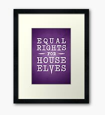 Rights for Elves Framed Print