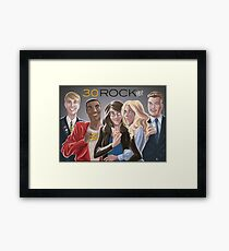 30 Rock Framed Print