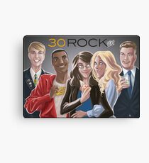 30 Rock Canvas Print