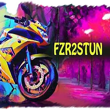 Fzr2Stun colorful bike by Fzr2stun