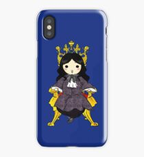Chibi Philippe on the Golden Throne iPhone Case