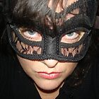 Masked Woman IV  - A little attitude by Anthea  Slade