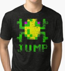 Men's Frogger Jump T-shirt - Many Colours - S to 2XL